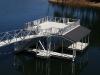 Waterproof Aluminum Decking on Sundeck Combo Dock