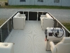 Waterproof Aluminum Decking as Pontoon boat flooring